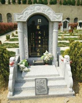 HM-CT1209传统墓碑