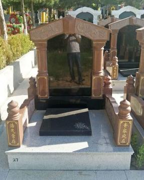 HM-CT1216传统墓碑