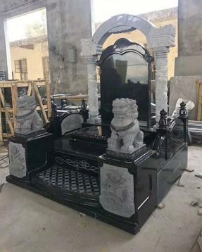 山西黑墓碑批发